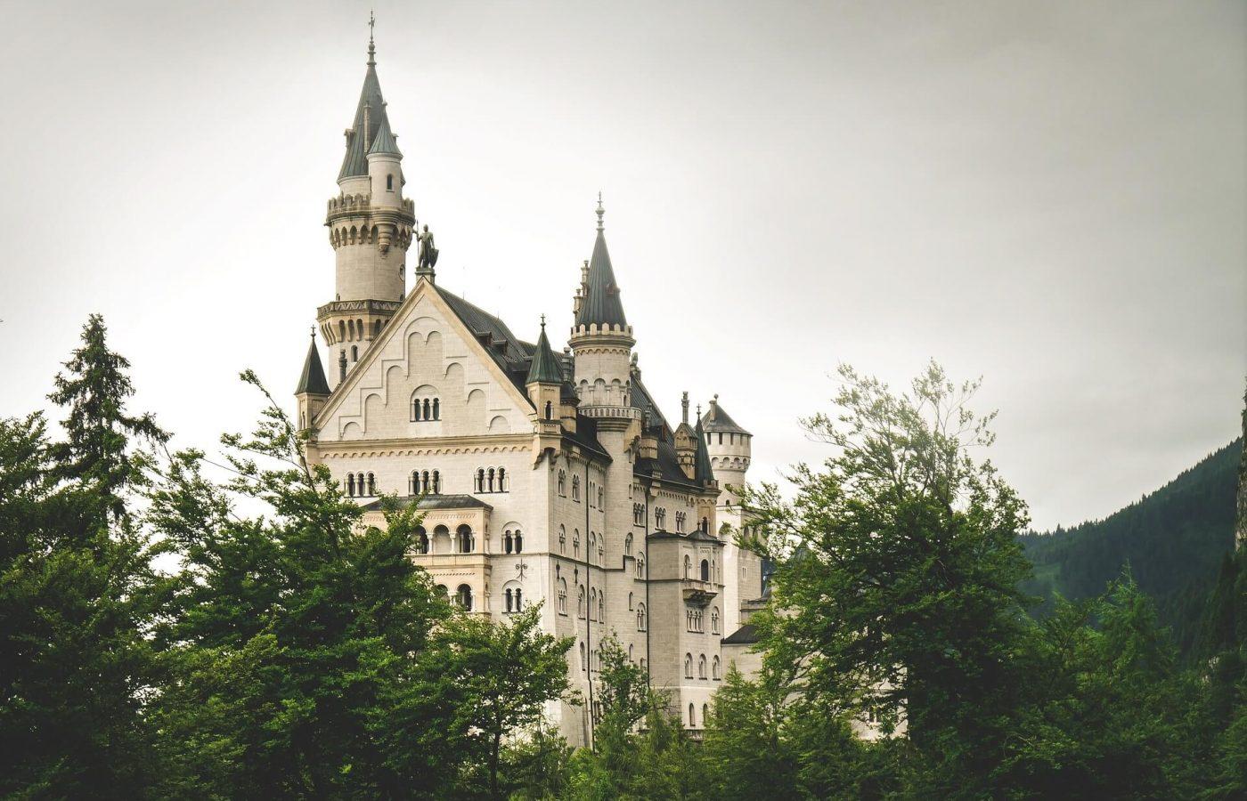 das Schwanstein Schloss Neuschwanstein