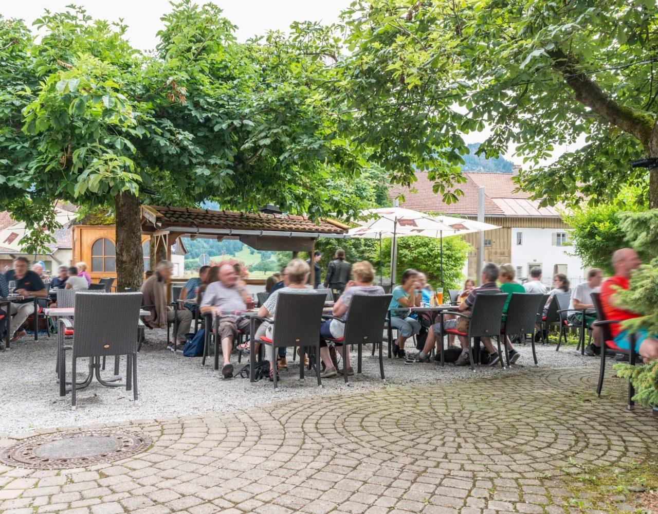 das Schwanstein Biergarten