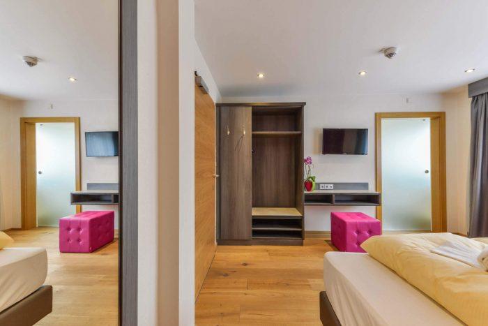 das Schwanstein Doppelzimmer Ausstattung